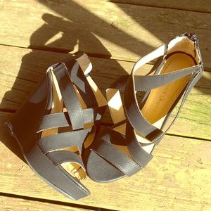 Chinese Laundry Strappy Wedges